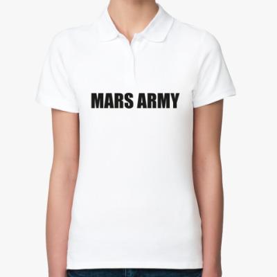 Женская рубашка поло 30 Seconds to Mars