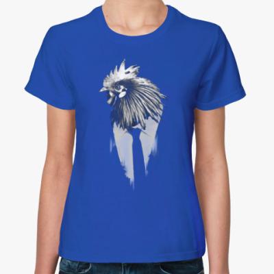 Женская футболка Петух, талисман года