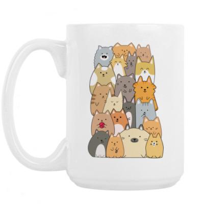 Кружка Смешные коты (funny cats)