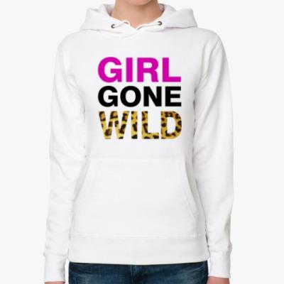 Женская толстовка худи Girl Gone Wild