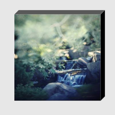 Холст Маленький водопад