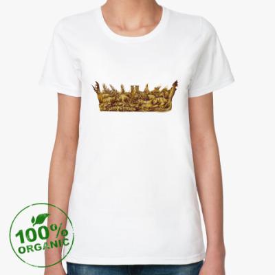 Женская футболка из органик-хлопка Игра Престолов: Корона