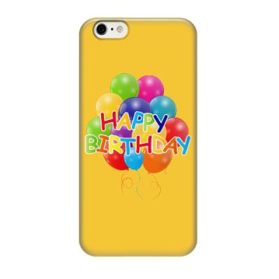Чехол для iPhone 6/6s Happy Birthday