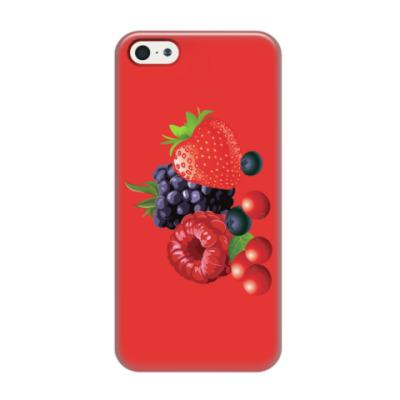 Чехол для iPhone 5/5s Ягоды