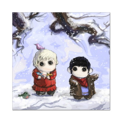 Наклейка (стикер) Merlin