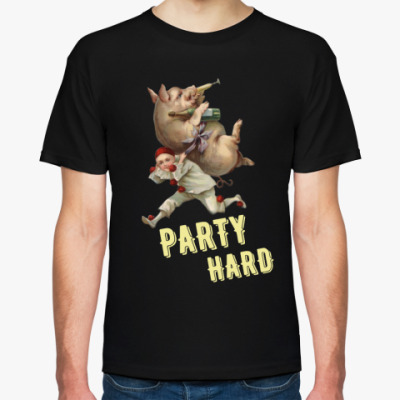 Футболка PARTY HARD