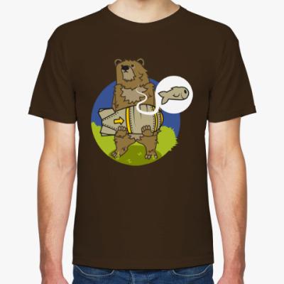 Футболка BEARBOMBEAR - Медведь с бомбой