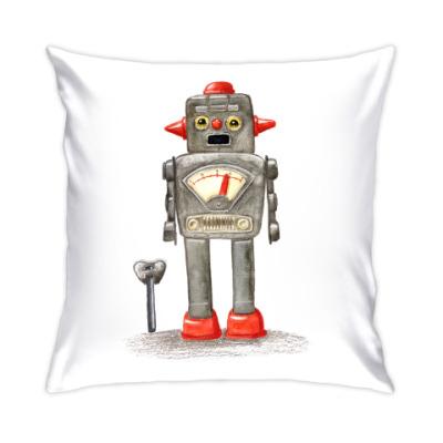 Подушка игрушечный робот