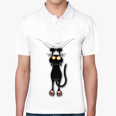 Рубашка поло Черная кошка