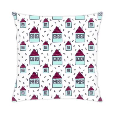 Подушка Houses