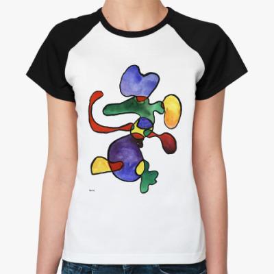 Женская футболка реглан Футболка  женская «ФОРМЫ»