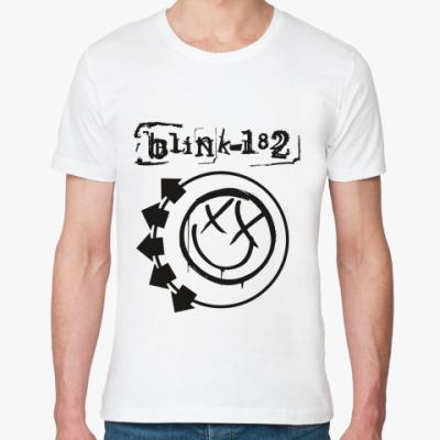 Футболка из органик-хлопка Blink 182
