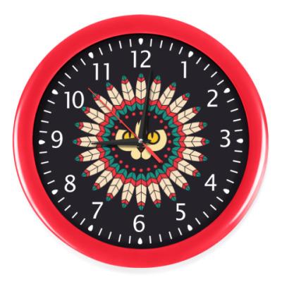 Настенные часы Cat Spirit Animal
