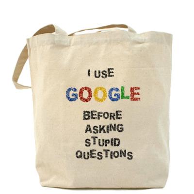 Сумка Холщовая сумка I use Google