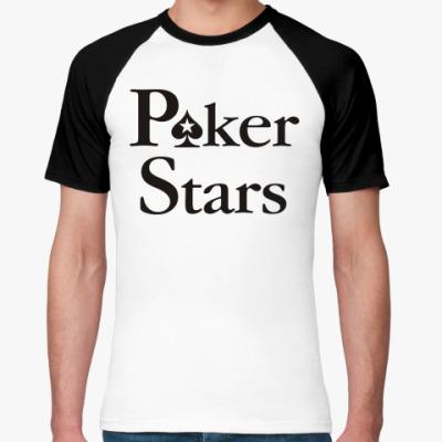 Футболка реглан Poker Stars