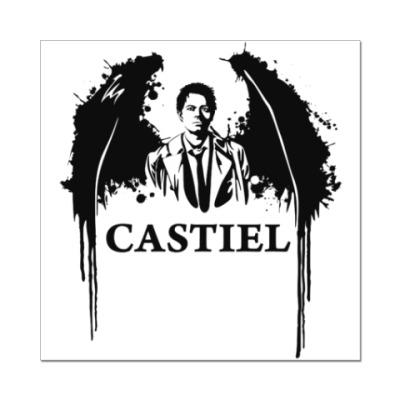 Наклейка (стикер) Кастиель