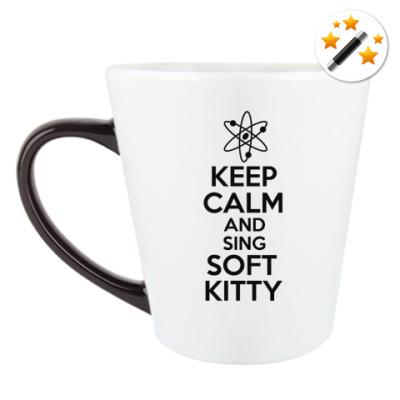 Кружка-хамелеон Keep calm and sing SOFT KITTY