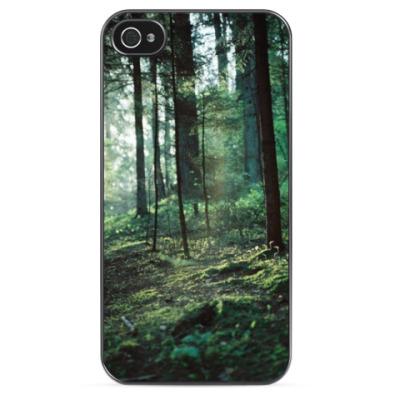 Чехол для iPhone Зеленый лес