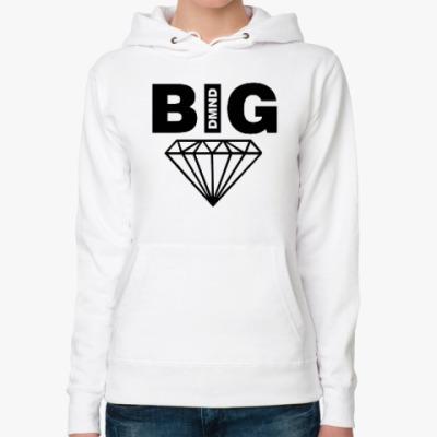 Женская толстовка худи BIG Diamond