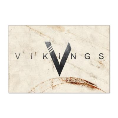 Наклейка (стикер) Vikings