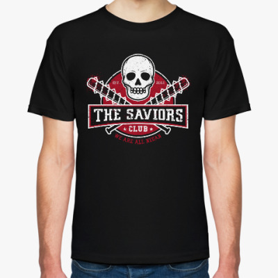 Футболка Walking Dead The Saviors TWD