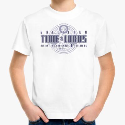 Детская футболка Gallifrey Time Lords