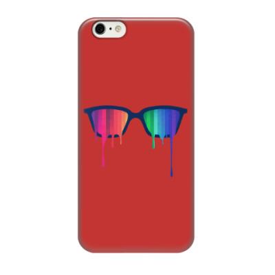 Чехол для iPhone 6/6s Хипстер: очки