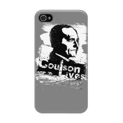 Чехол для iPhone 4/4s Coulson Lives