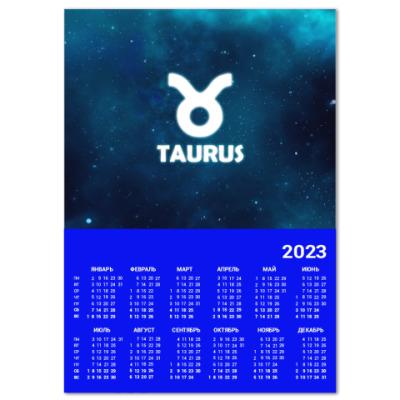 Календарь Знак зодиака. Телец