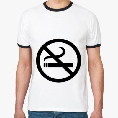 Футболка Ringer-T Не курить
