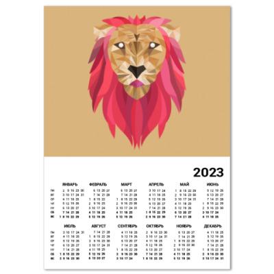 Календарь Лев / Lion