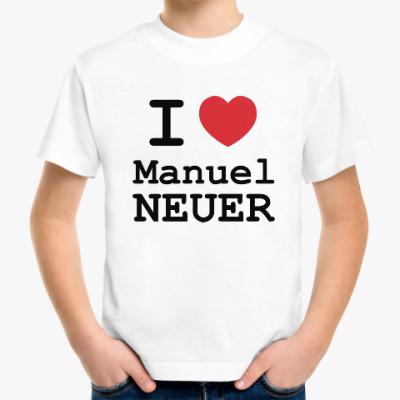 Детская футболка Мануэль Нойер