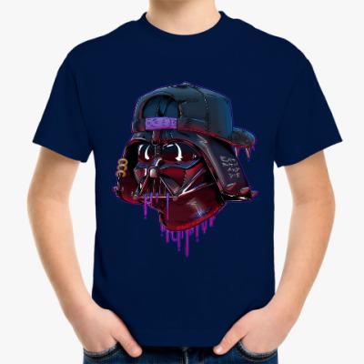 Детская футболка Дарт Вейдер Бомж
