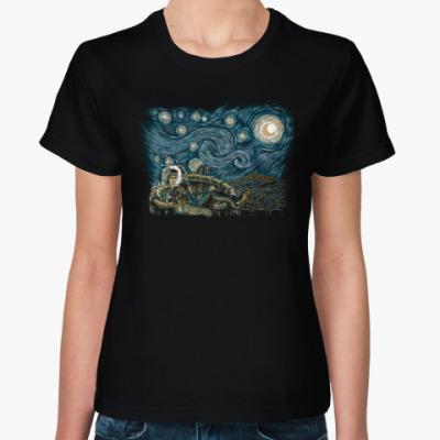 Женская футболка Звездный Лабиринт