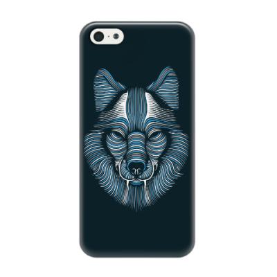 Чехол для iPhone 5/5s Волк