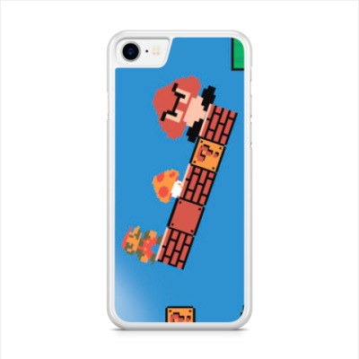 Чехол для iPhone mario 8 bit