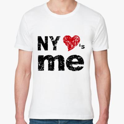 Футболка из органик-хлопка   NY Loves Me