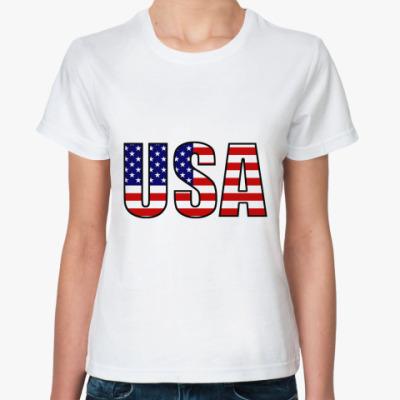 Классическая футболка United States