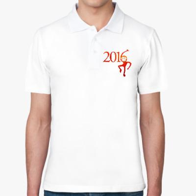 Рубашка поло Год Огненной Обезьяны 2016