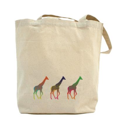 Цветные жирафы