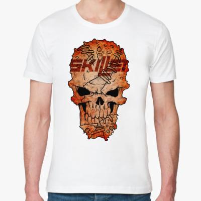 Футболка из органик-хлопка Skillet Skull
