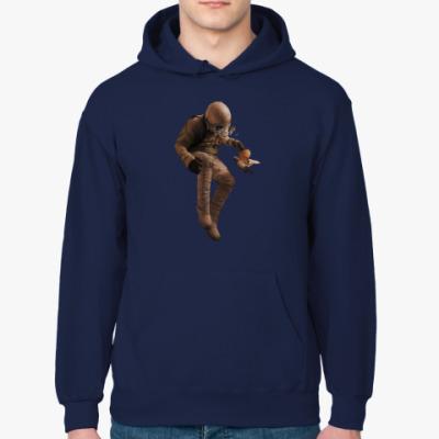 Толстовка худи Космонавт с голубем