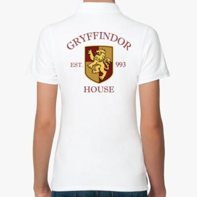 Женская рубашка поло Gryffindor