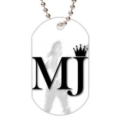 Жетон dog-tag Майкл Джексон