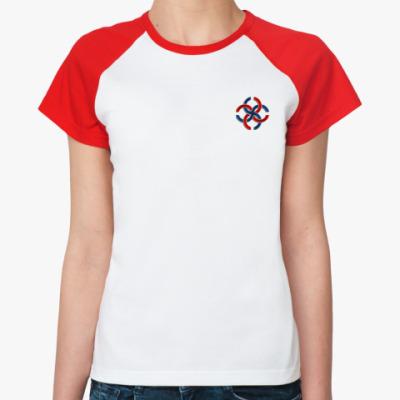 Женская футболка реглан Свадебник