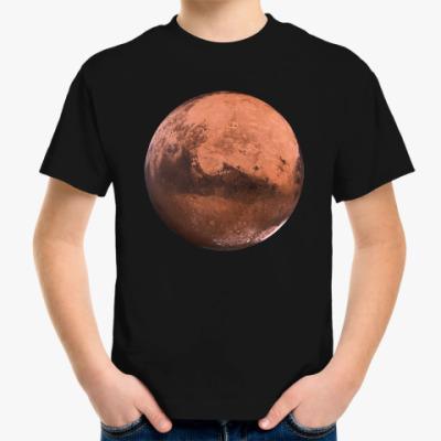 Детская футболка Марс
