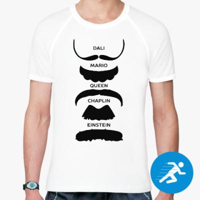 Спортивная футболка Усы Знаменитостей