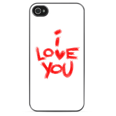 Чехол для iPhone I love you