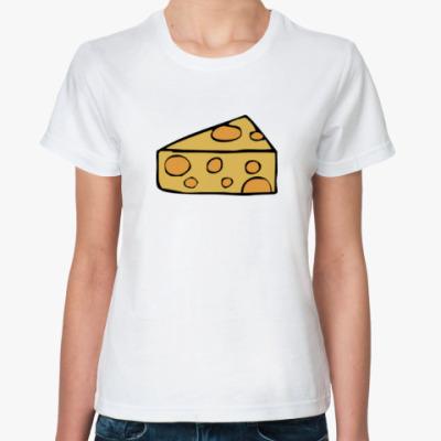 Классическая футболка Мышка и сыр