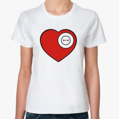 Классическая футболка Вилка и розетка